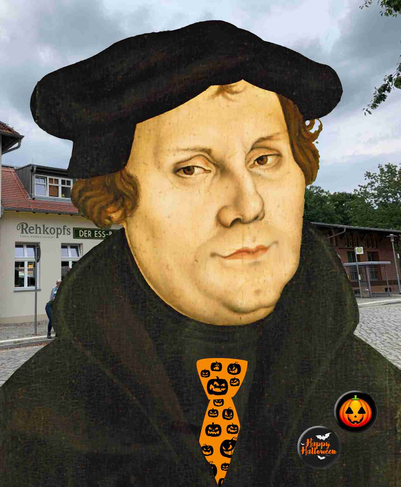 Luther an Halloween